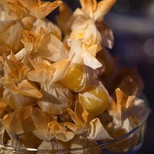 doces de casamento São José dos Campos trouxinhas de abacaxi com coco 000