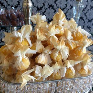 doces de casamento São José dos Campos trouxinhas de abacaxi com coco 001