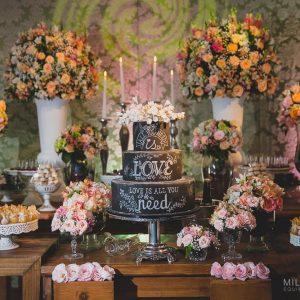 doces para casamento São José dos Campos mesa de casamento 005