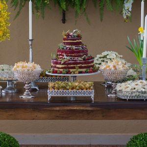 doces para casamento São José dos Campos mesa de casamento 026