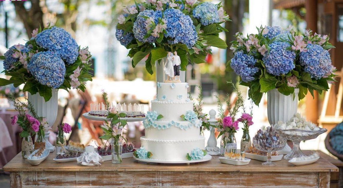 doces para casamento São José dos Campos mesa de casamento praia