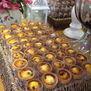 doces para casamento São José dos Campos tartelette de maracujá