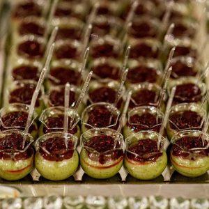 doces para casamento São José dos Campos verrine creme de pistache com framboesas 3